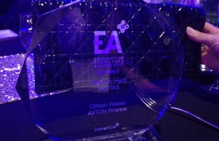 Axton Finance 2017 Connective Excellence Awards Winner Top Mortgage Broker